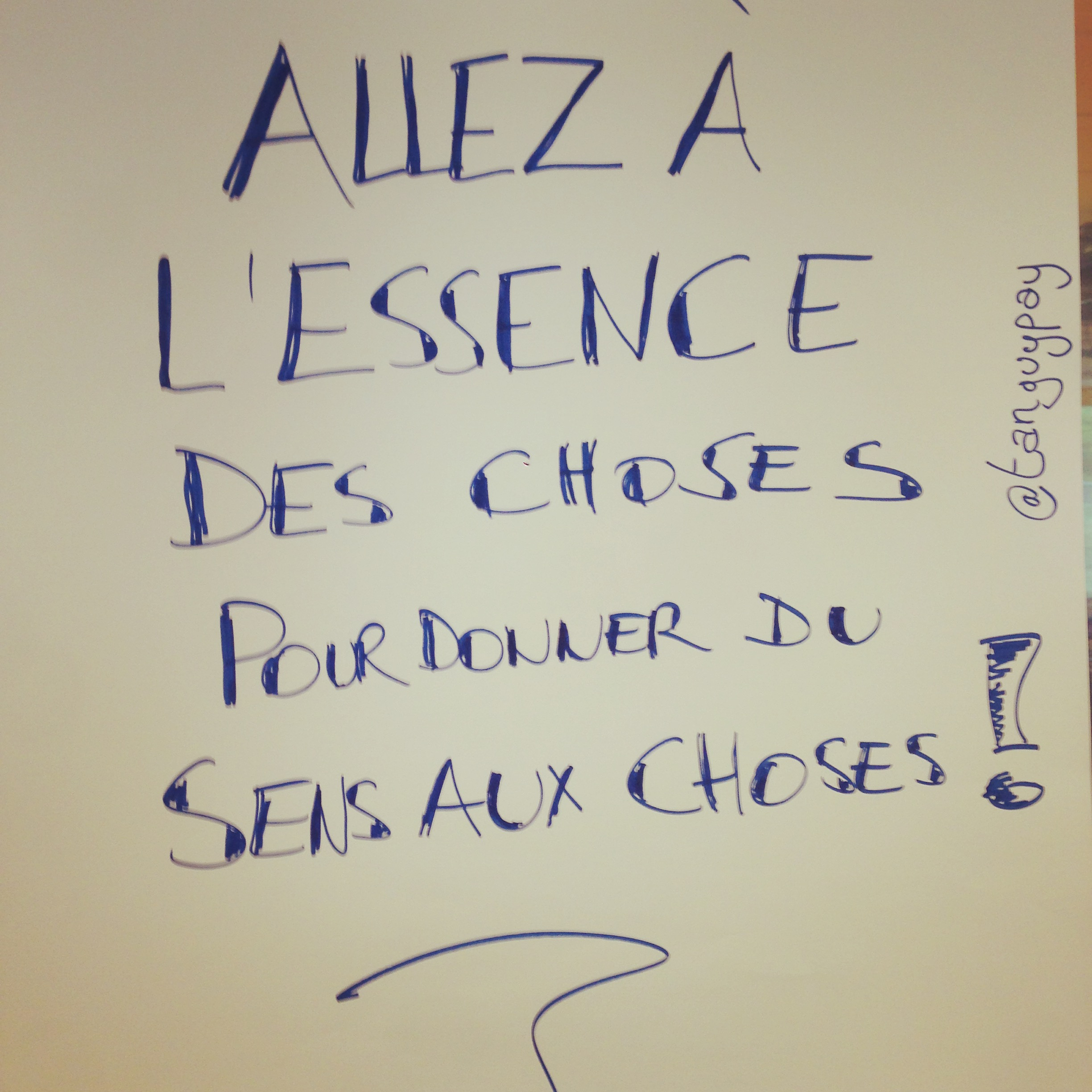 L'essence des choses