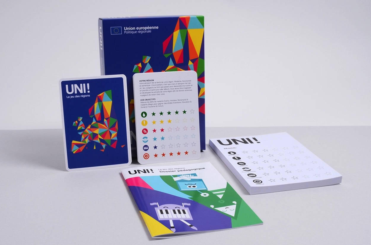 uni! le jeu - packaging